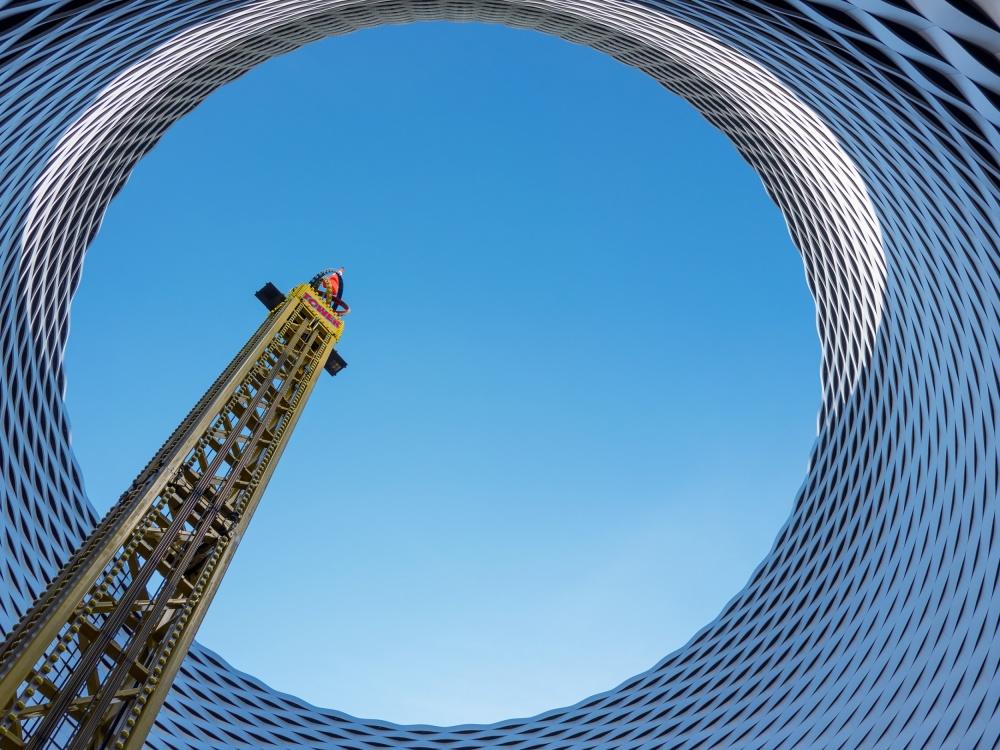 A piece of fine art art photography titled Tower by Harry Lieber