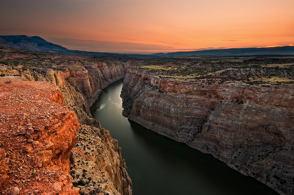 A piece of fine art art photography titled Bighorn Canyon by Doug Roane