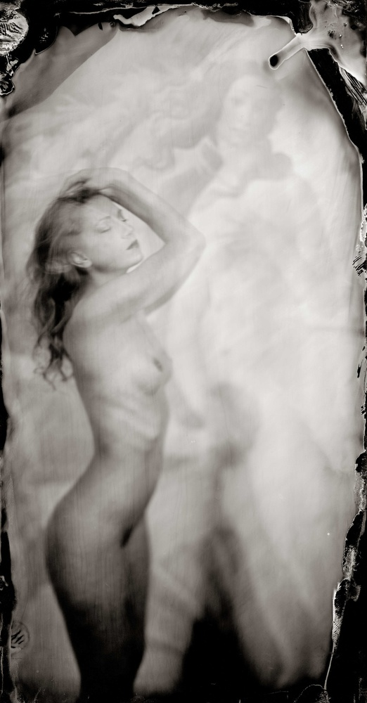 A piece of fine art art photography titled Melanie by Peter van Hal