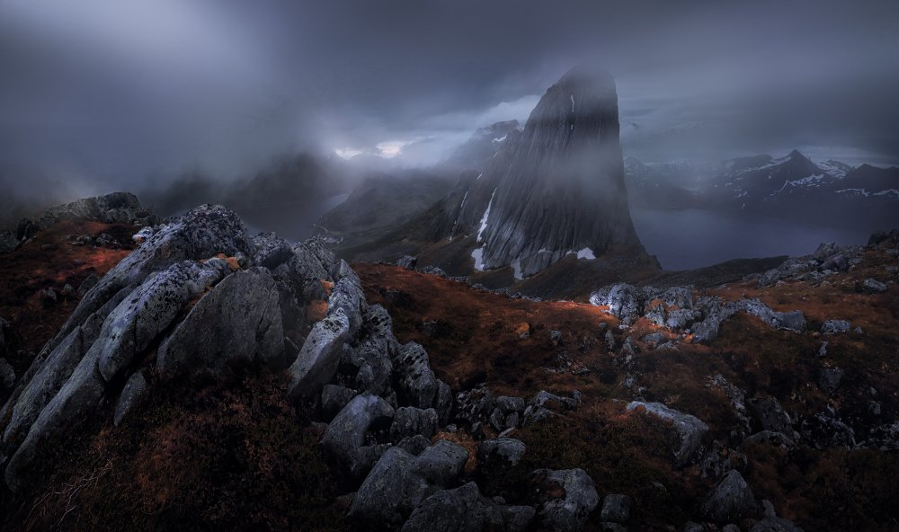 A piece of fine art art photography titled Temple of the Heart by Siarhei Mikhaliuk *