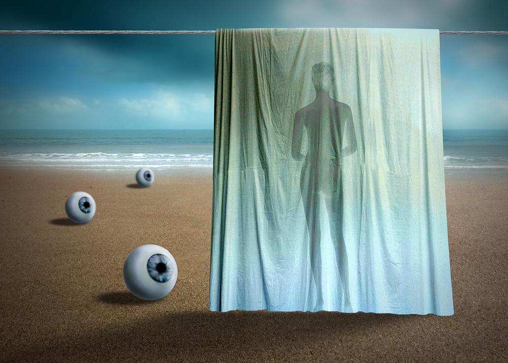 A piece of fine art art photography titled Voyeurs by Ben Goossens