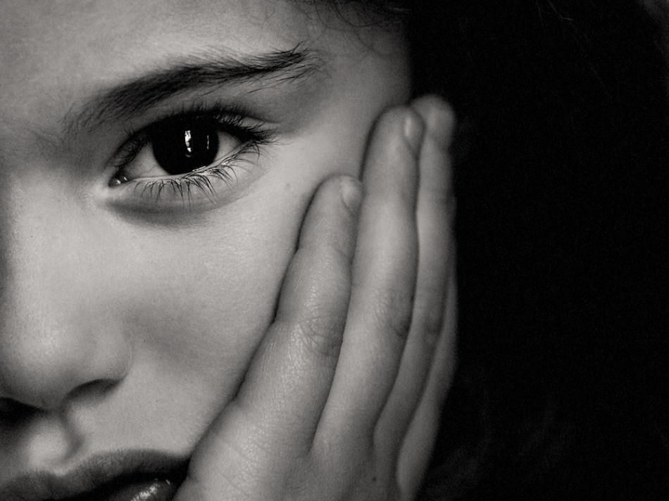 A piece of fine art art photography titled Bw Portrait by Giorgio Lorcet