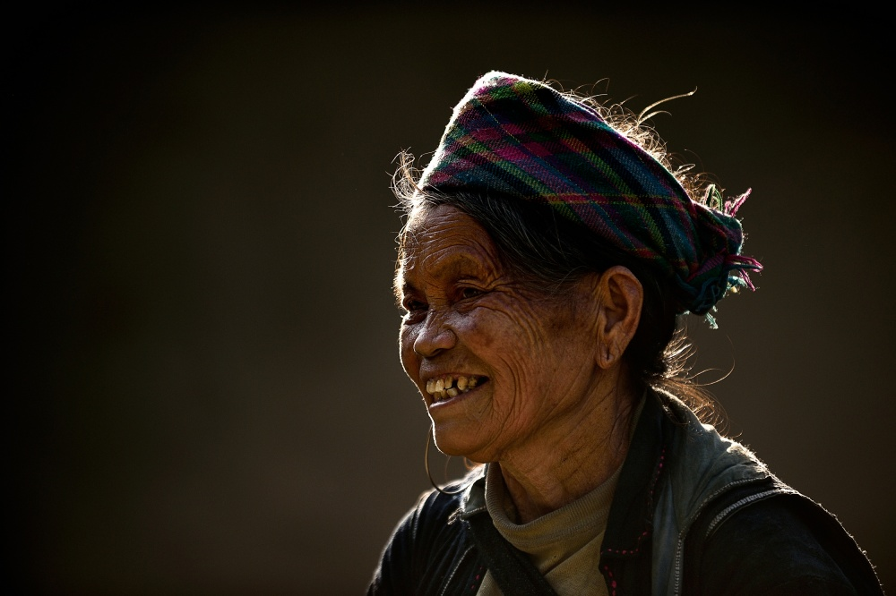 A piece of fine art art photography titled Smile of Sapa by Vichaya