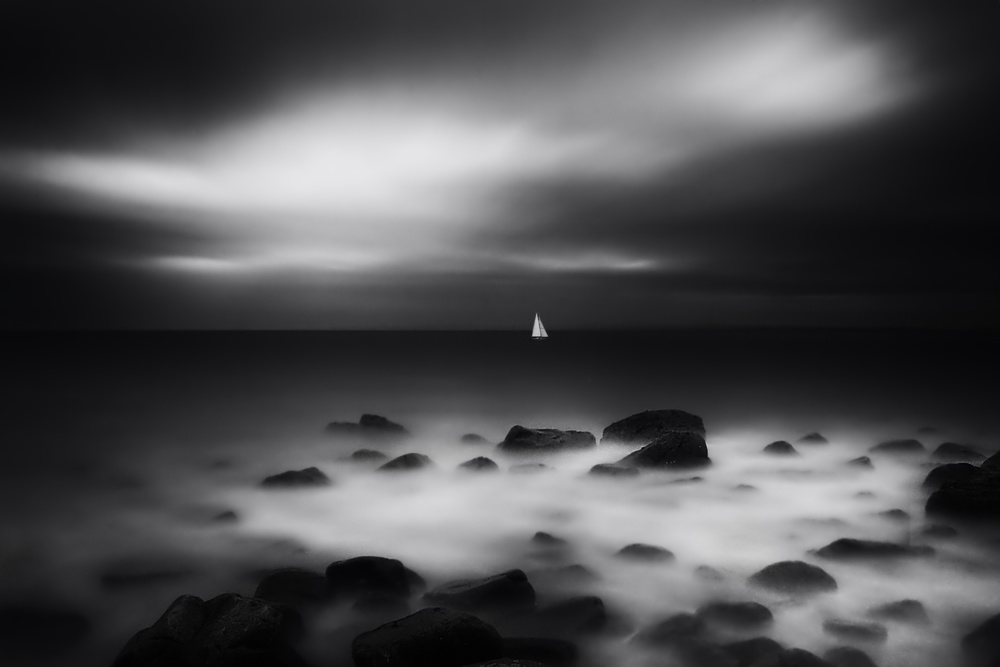 A piece of fine art art photography titled Sailing by catalin alexandru