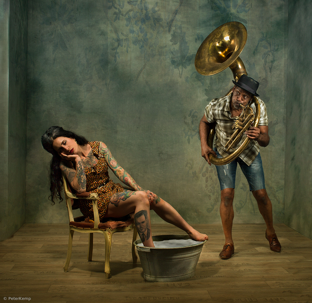 View this piece of fine art photography titled Sousafoon by Peter Kemp