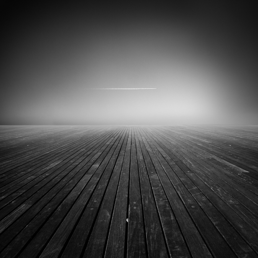 A piece of fine art art photography titled Straight by Eric Frey