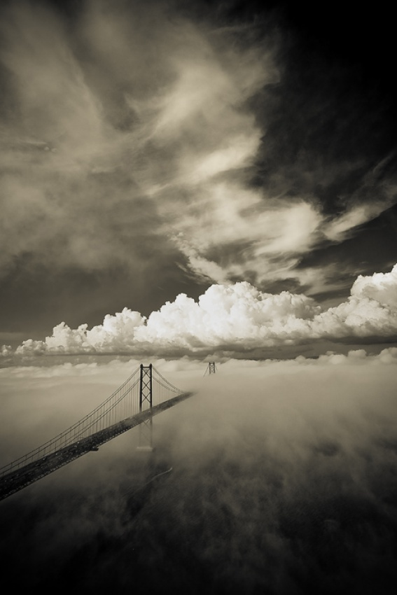 A piece of fine art art photography titled Bridge to Neverland by João Pedro Neves