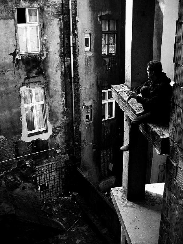 A piece of fine art art photography titled Phobic by Michal Koziol