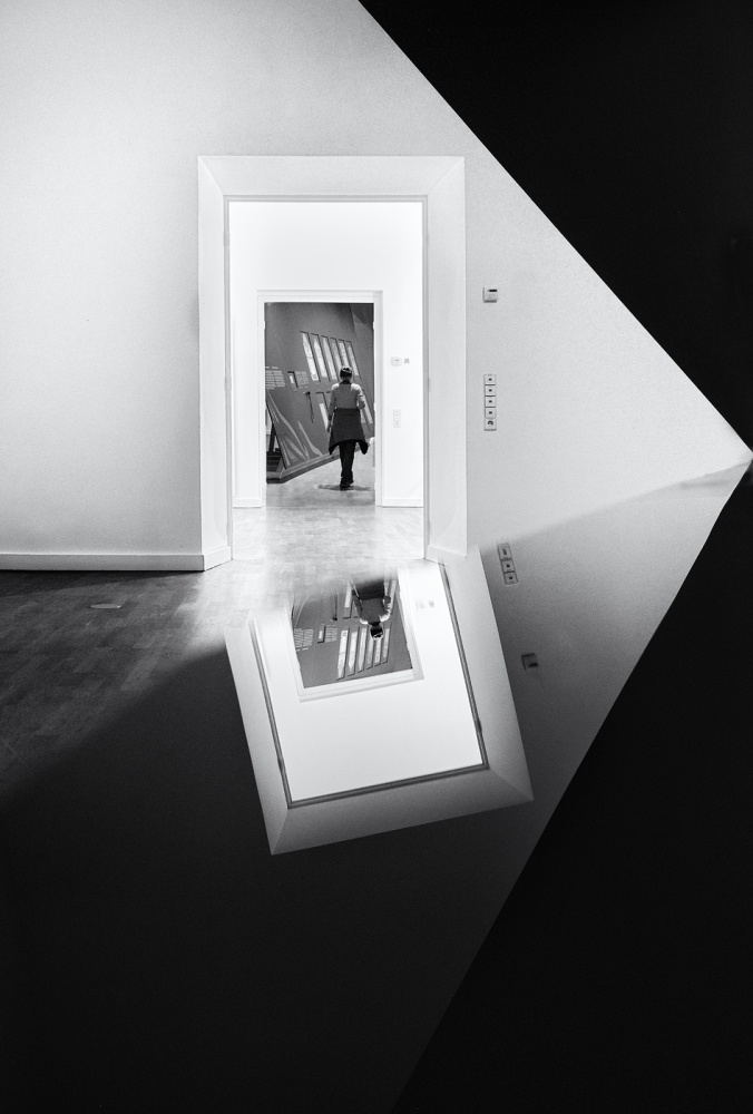 A piece of fine art art photography titled Pictures at an Exhibition by Izidor Gasperlin