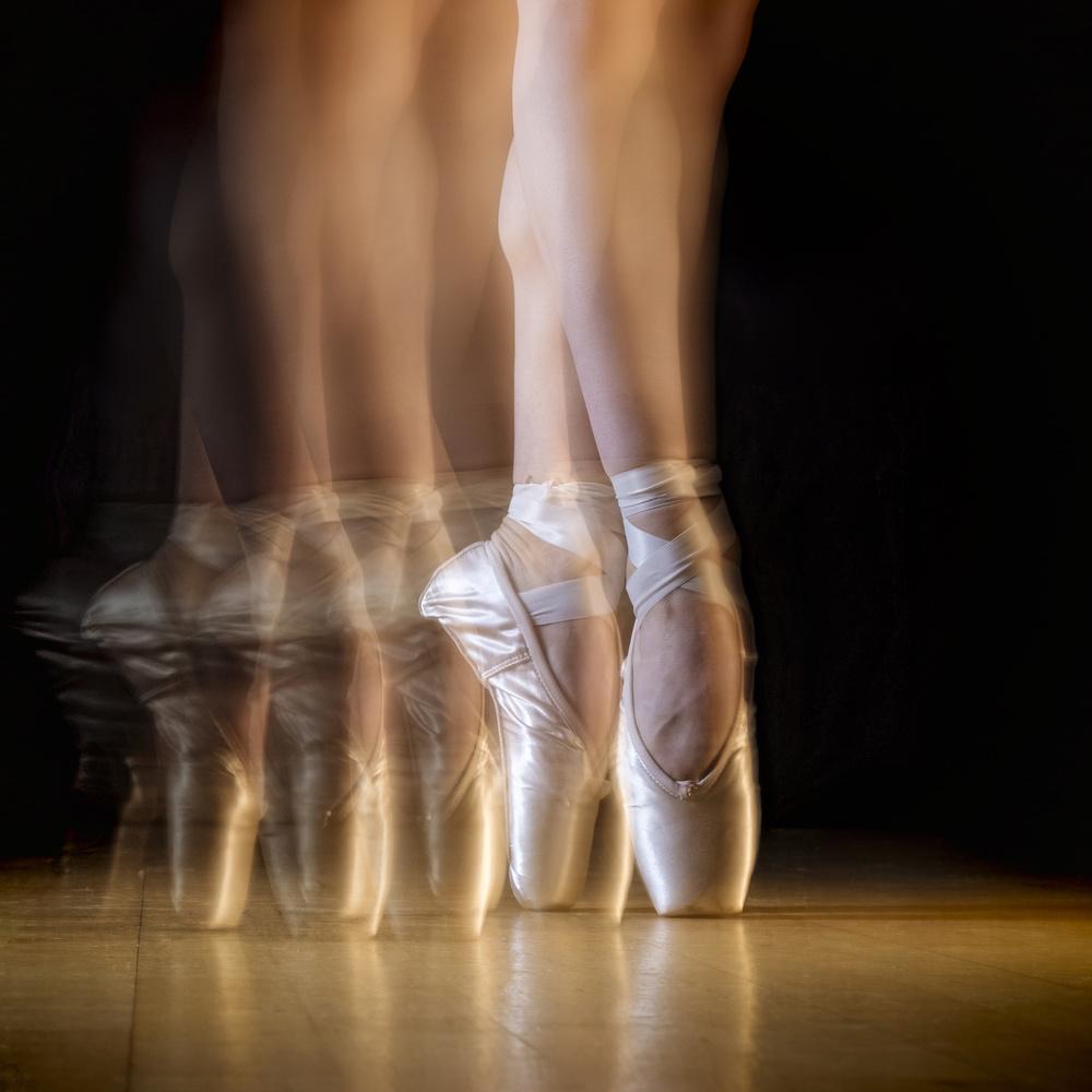 A piece of fine art art photography titled Ballet by Howard Ashton-Jones