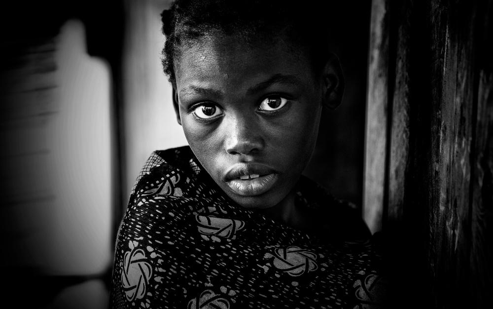 A piece of fine art art photography titled Girl from Benin by Joxe Inazio Kuesta Garmendia