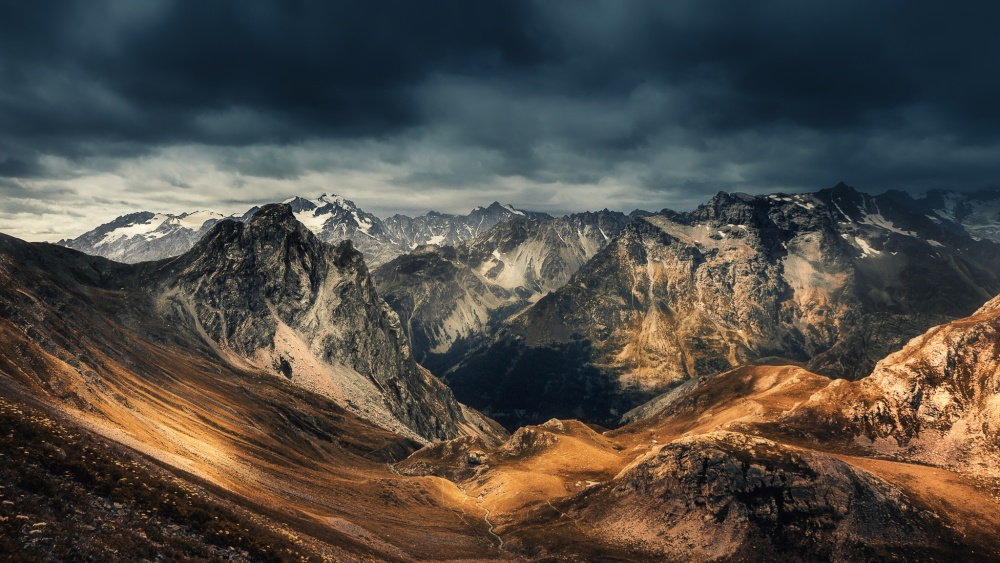 A piece of fine art art photography titled Land of Desolation by Aliaume Chapelle