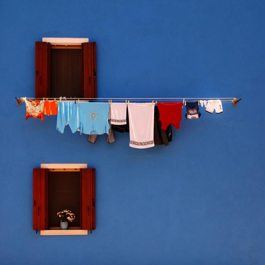 A piece of fine art art photography titled Blue by Gergely Kömöz