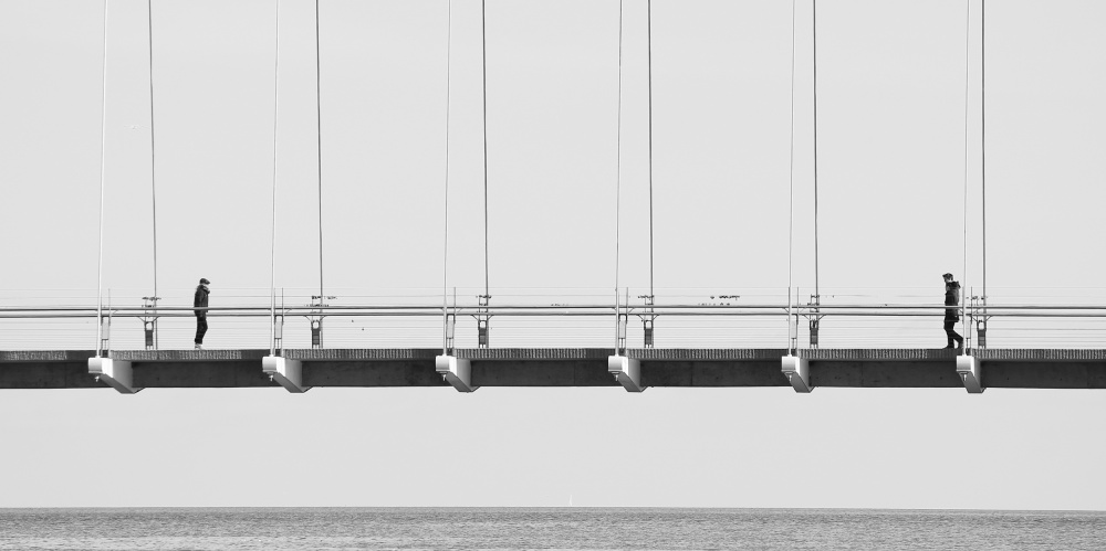 A piece of fine art art photography titled Bridge by Jian Wang
