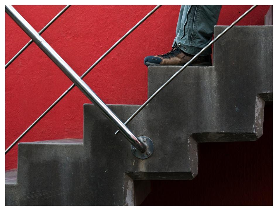 A piece of fine art art photography titled Human Intervention by Bernard Frey