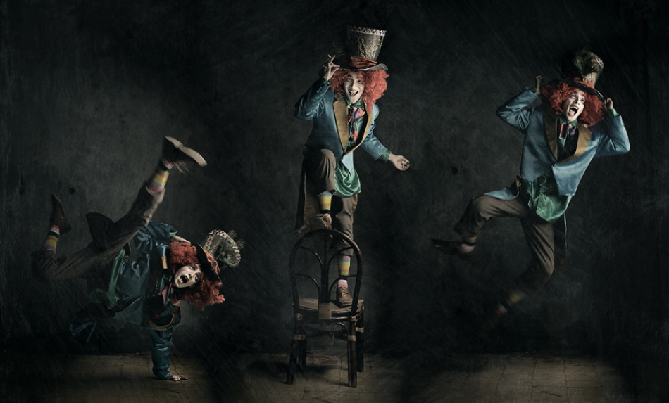 A piece of fine art art photography titled Action Figure by Fitra Pranadjaja