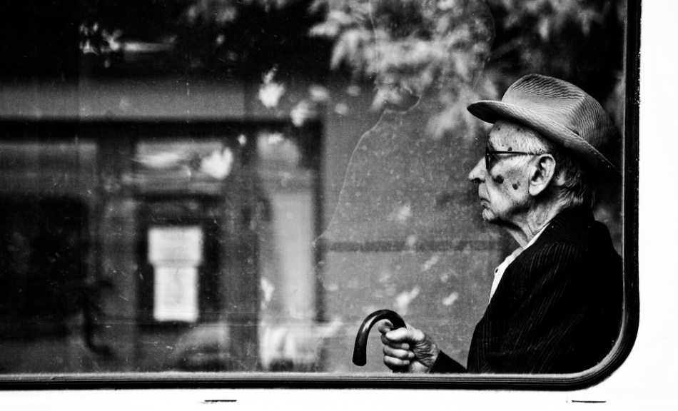 A piece of fine art art photography titled Oldman by GeorgeVintila