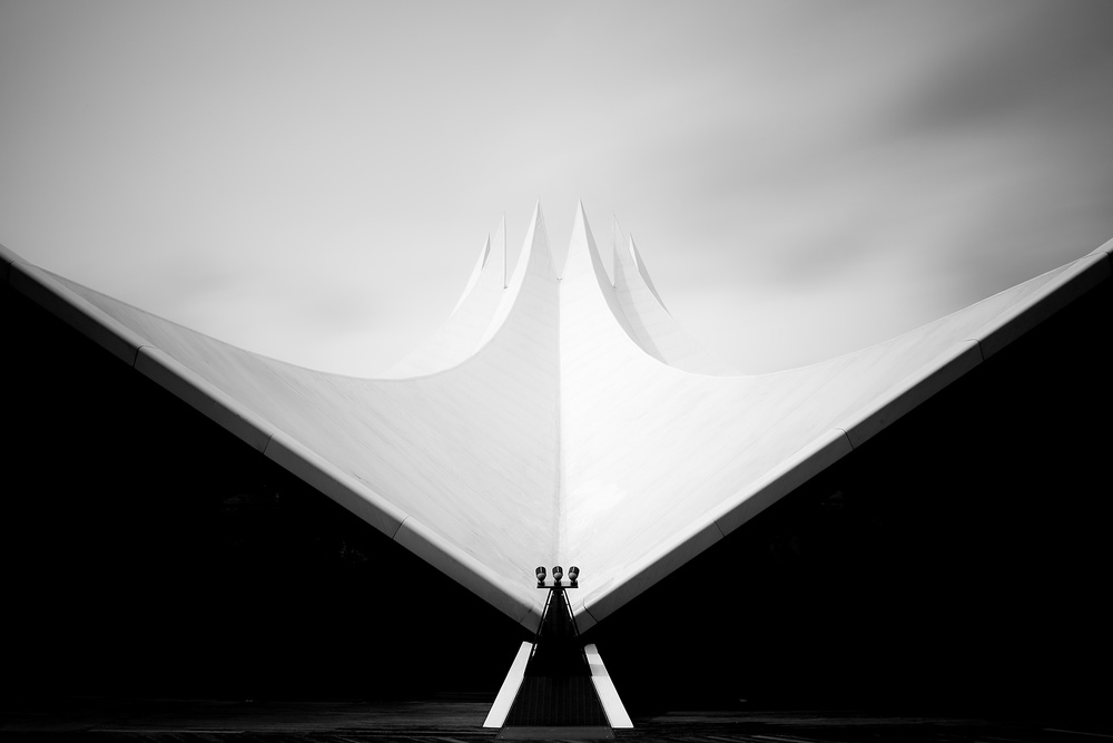 A piece of fine art art photography titled Black and White by Harry Lieber