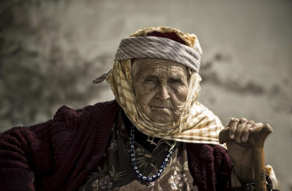 A piece of fine art art photography titled Old by Halit DOKUZOĞUZ