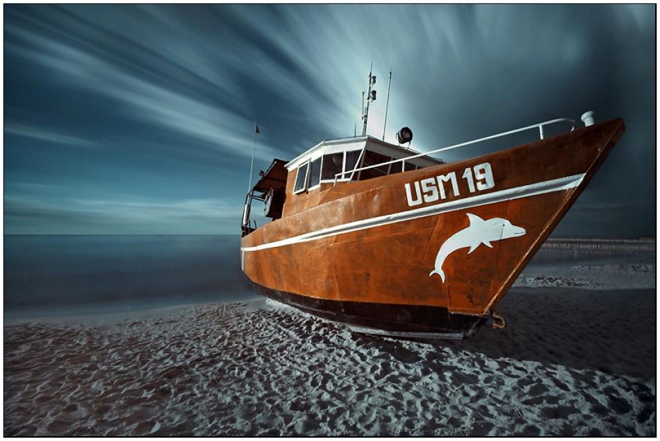 A piece of fine art art photography titled Magic Boat by Jaroslaw Stryjewski