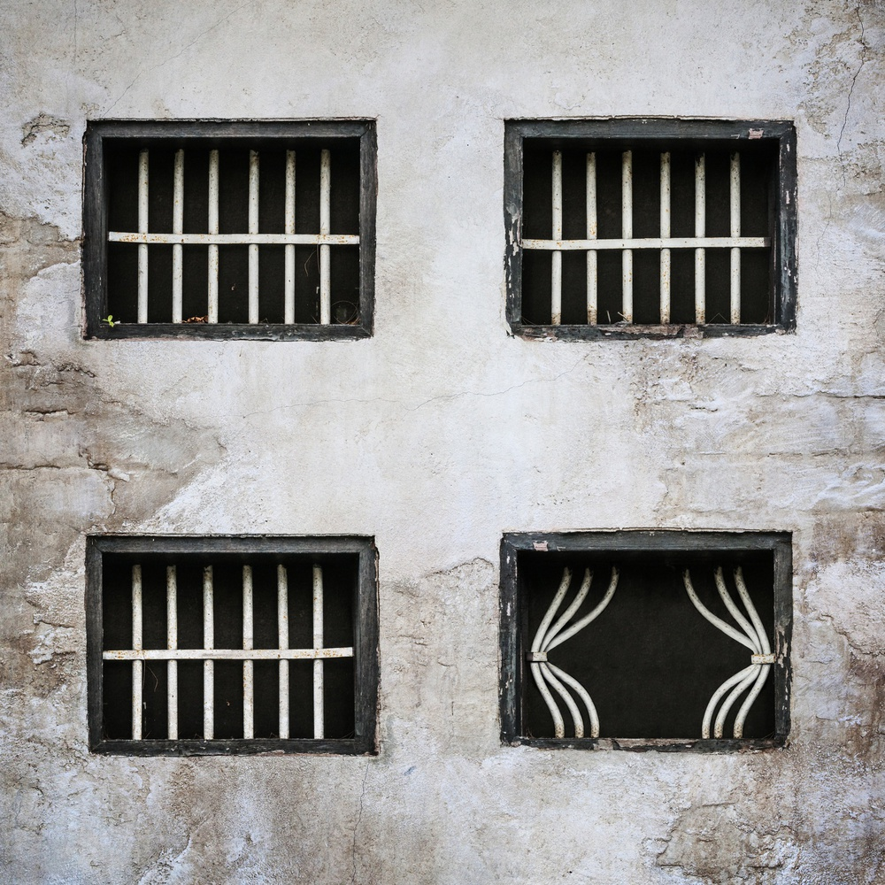 A piece of fine art art photography titled Rideau De Prison by Sebastien DEL GROSSO