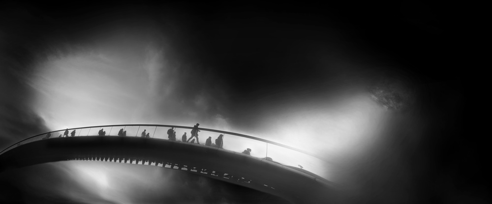A piece of fine art art photography titled The Cycle by Vladimir Konkin