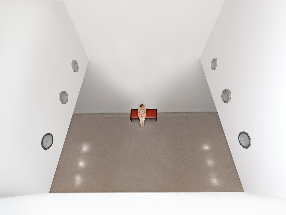 A piece of fine art art photography titled Untitled by Peter Bigorajski