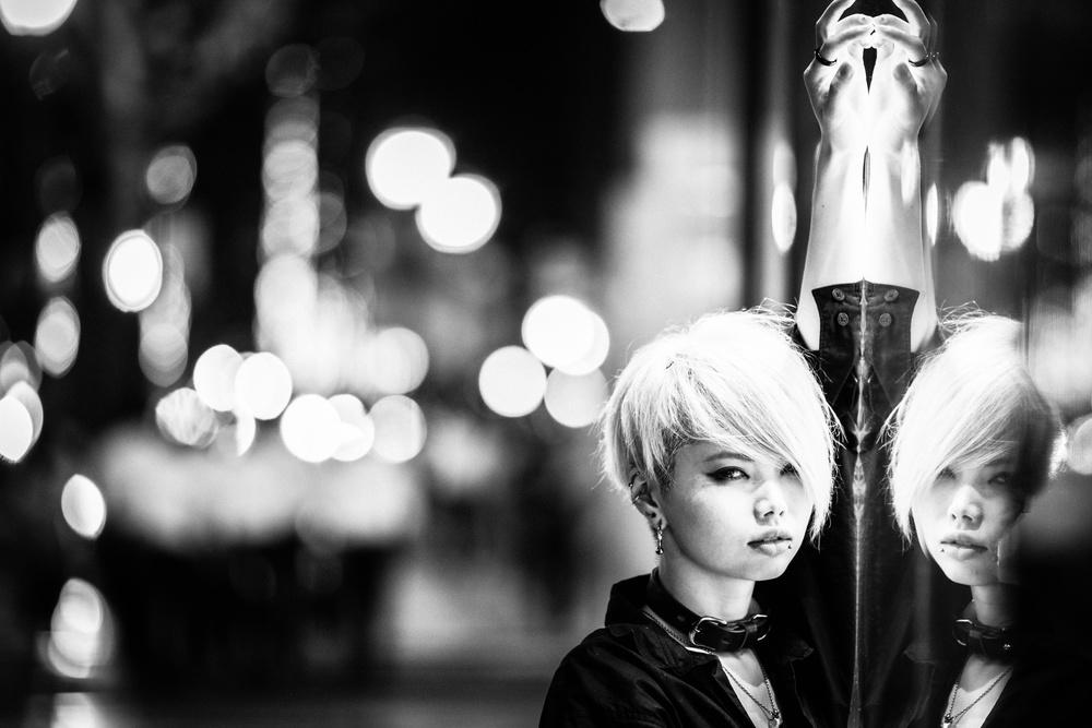 A piece of fine art art photography titled Lonely Night by TORU MATSUNAGA