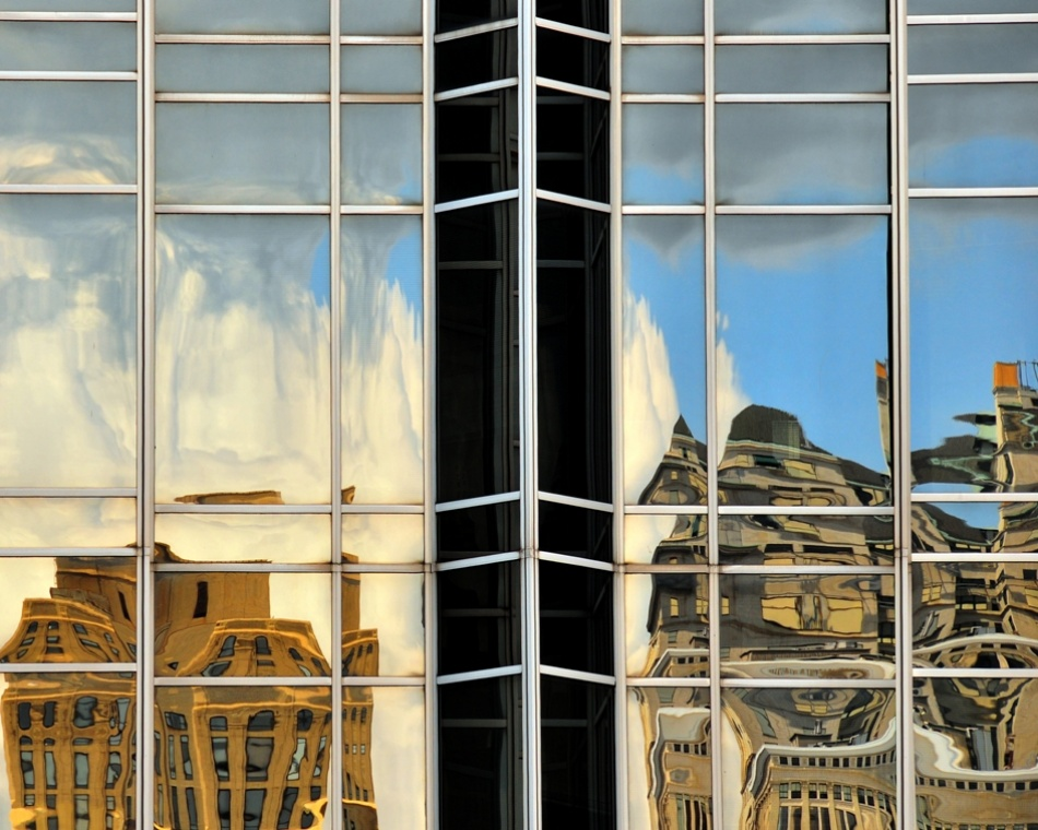 A piece of fine art art photography titled Reflections and More 2 by Al Seyedain