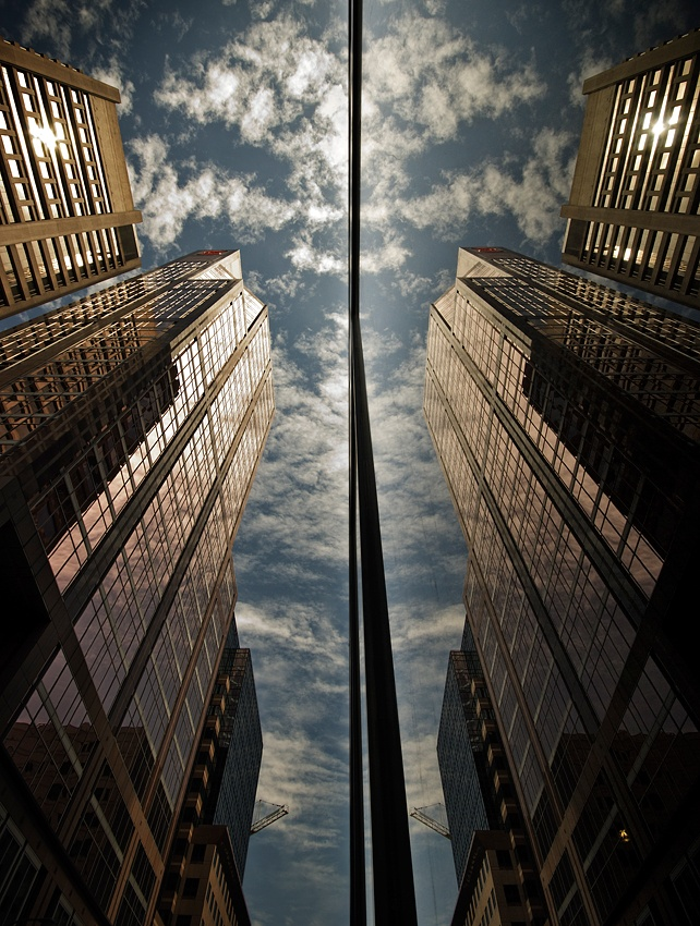 A piece of fine art art photography titled Réflexion 003 by Mario Jean
