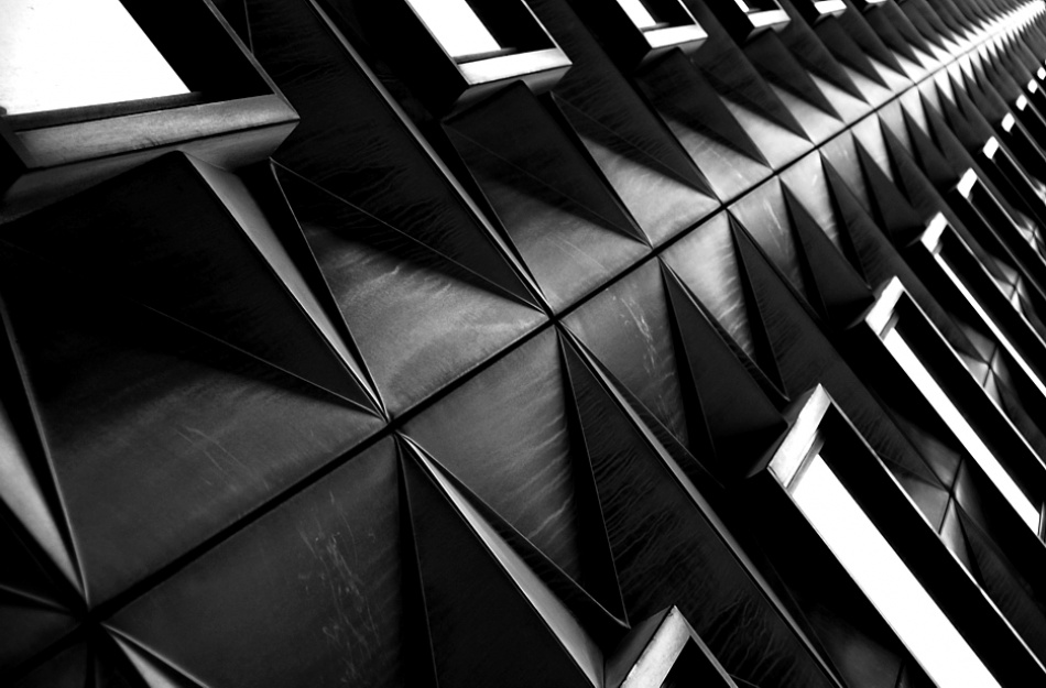 A piece of fine art art photography titled The Thin Black Line by Riccardo Monaco