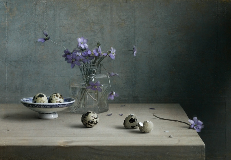 A piece of fine art art photography titled My April by Inga Girvica