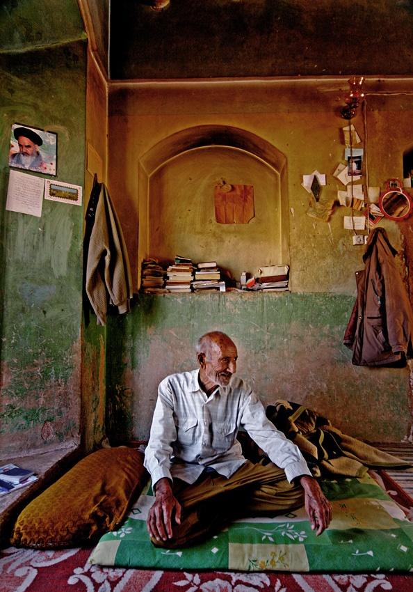 A piece of fine art art photography titled Old Man by saeid ameri