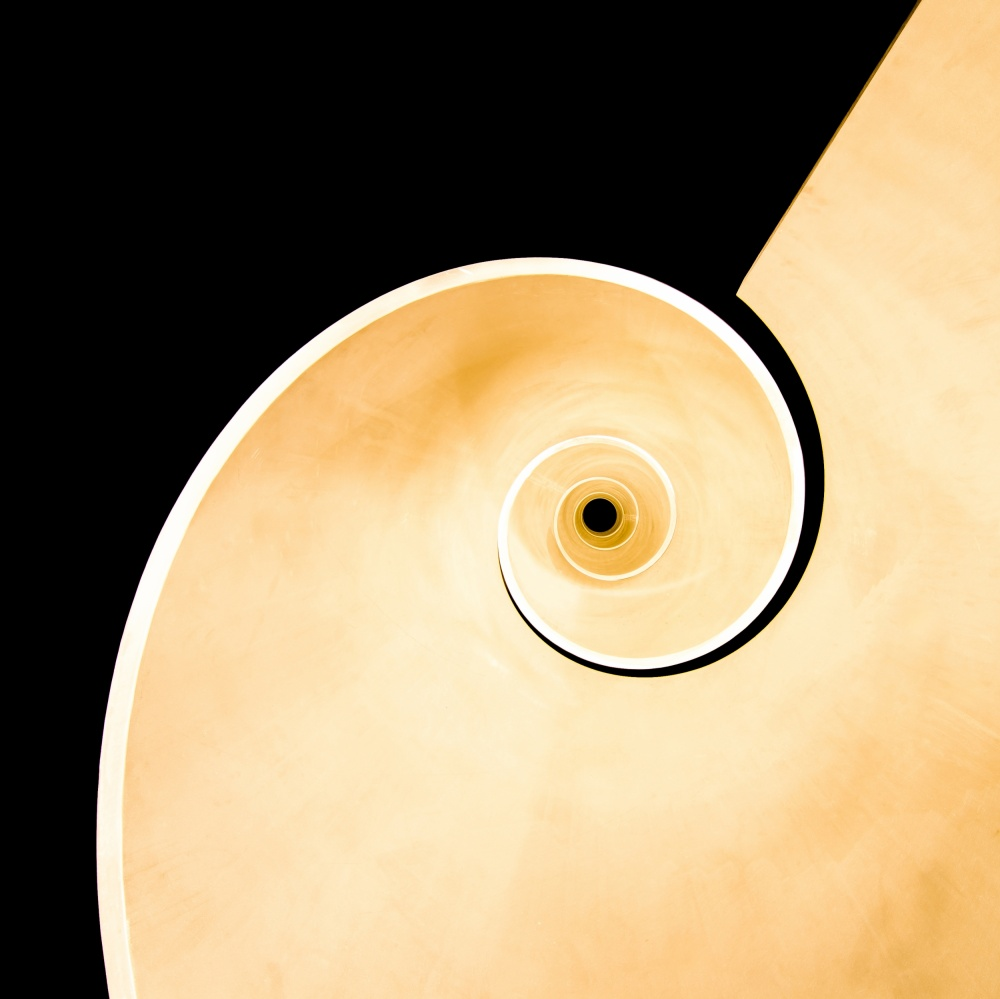 A piece of fine art art photography titled Spiral Monument by Anna  &amp Maciej Wojtas