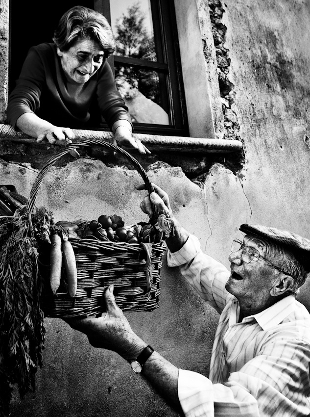 A piece of fine art art photography titled Lifetime Friends by giuseppe maiorana