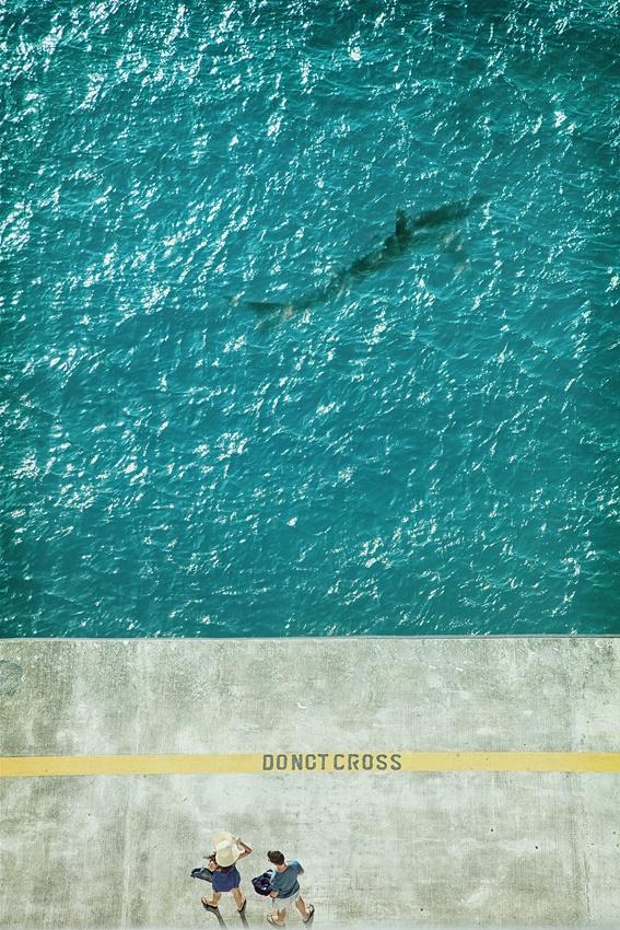 A piece of fine art art photography titled Danger ! by Reinhard Block