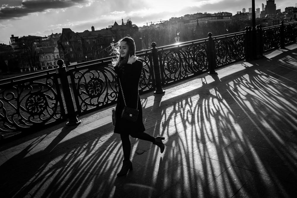 A piece of fine art art photography titled Walk by Nikolaitsch
