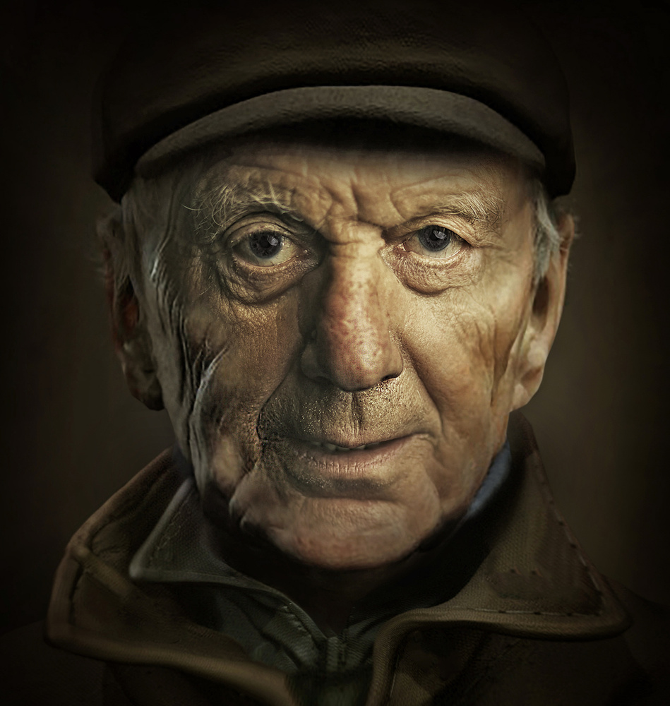 A piece of fine art art photography titled Old Teacher by Moein Hashemi Nasab