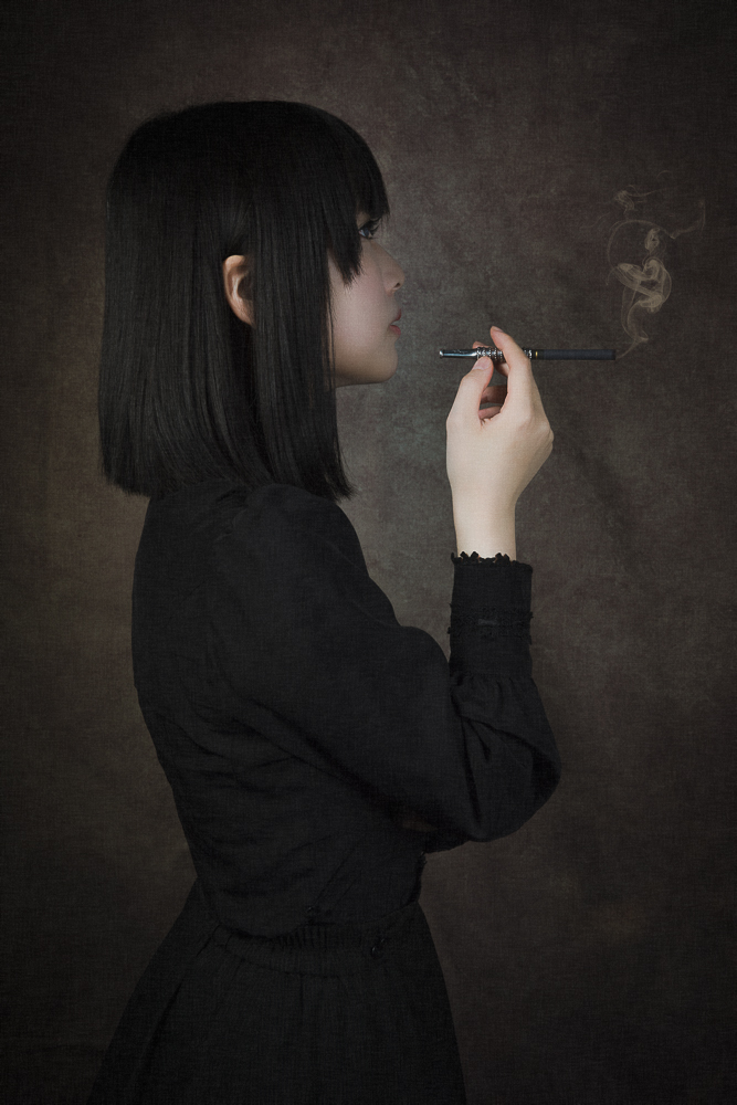A piece of fine art art photography titled Akari by kouji maruyama
