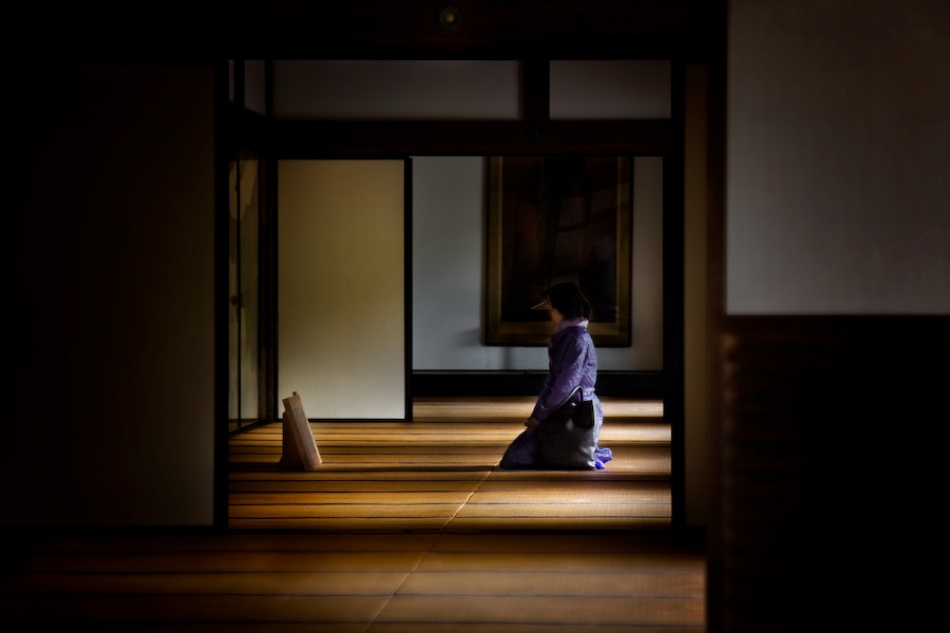 Contemplation in Kyoto