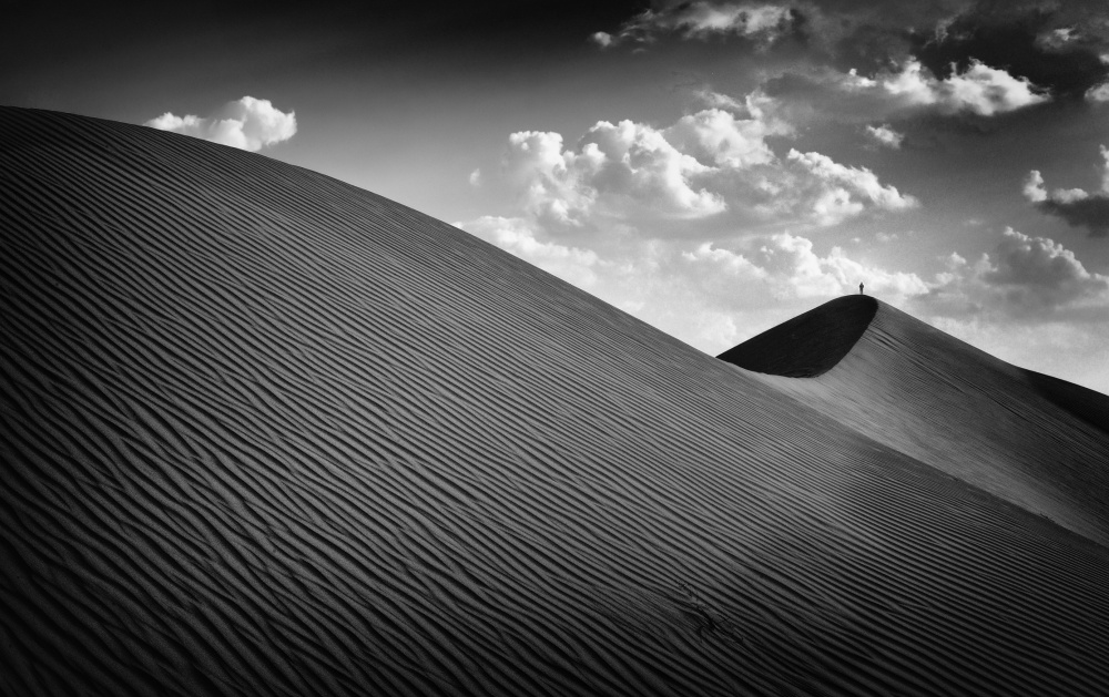 A piece of fine art art photography titled Distant Earth by Izidor Gasperlin