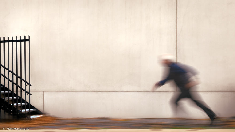 View this piece of fine art photography titled Motion man by milan malovrh