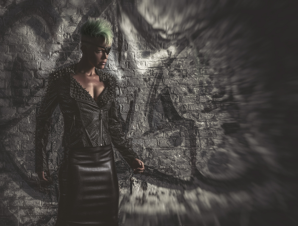 A piece of fine art art photography titled Terminatress XTR by gNo