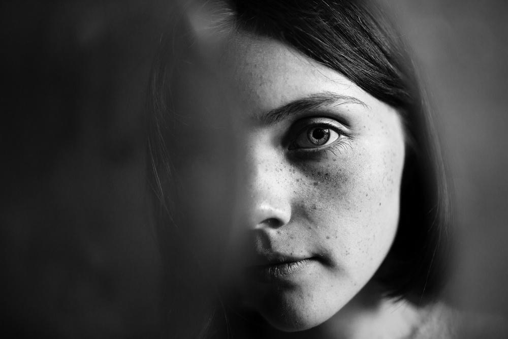 A piece of fine art art photography titled Kate by Kharinova Uliana