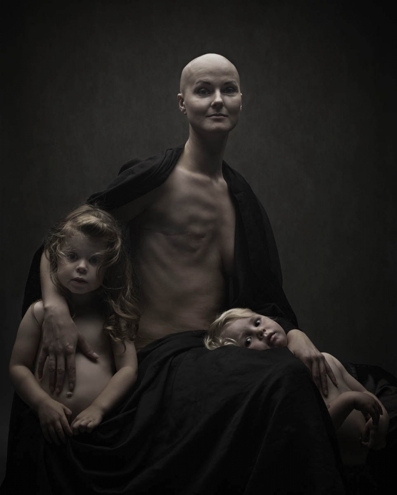 A piece of fine art art photography titled Mother by Ketil Born