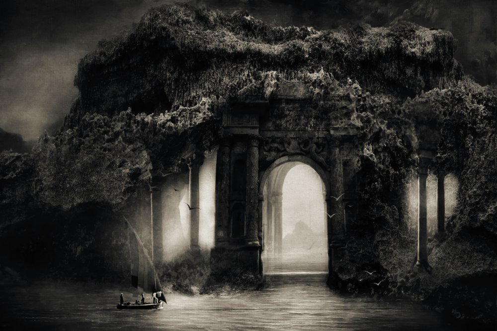 A piece of fine art art photography titled Go for Such a Mission That Your Dreams Extend by Charlaine Gerber