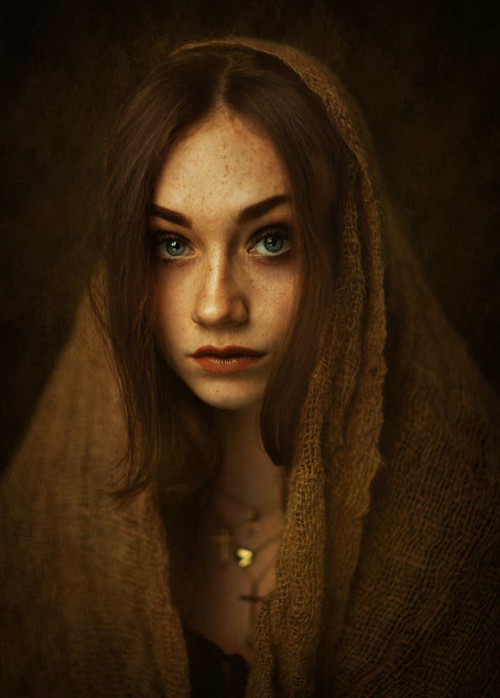 A piece of fine art art photography titled Kasia by Zachar Rise
