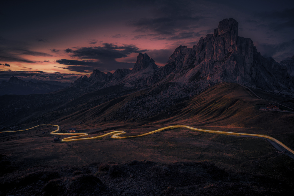 View this piece of fine art photography titled The luminous Trail by Alessandro Traverso