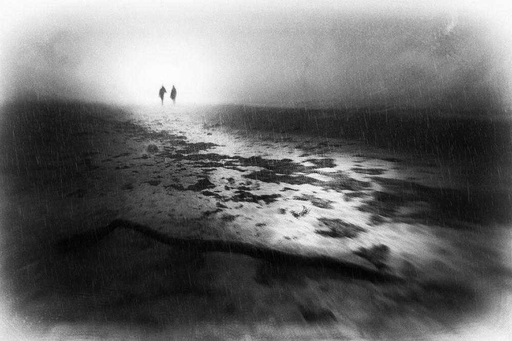 A piece of fine art art photography titled Falling Behind by Gustav Davidsson