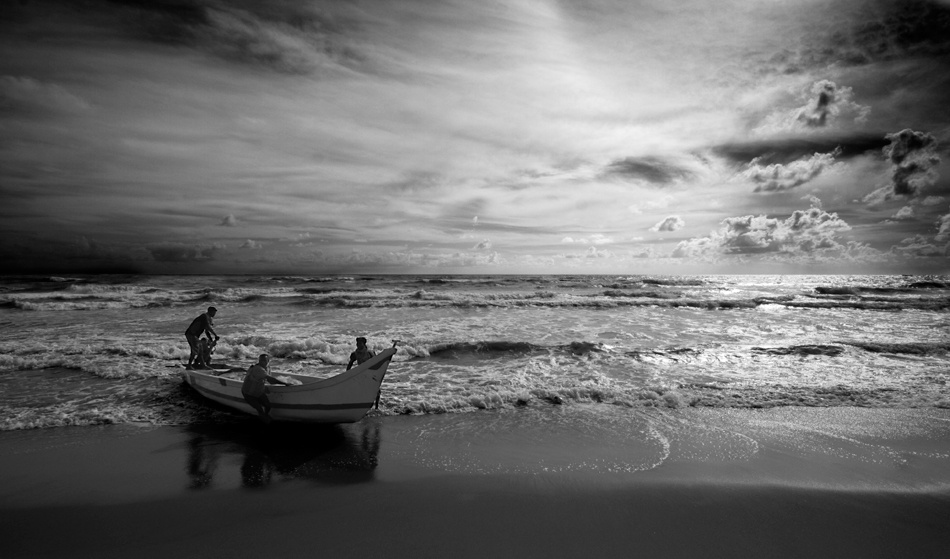 A piece of fine art art photography titled The Landing by Geraint